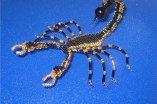 плетения скорпиона