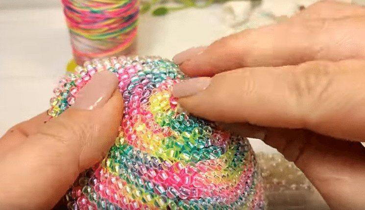 Сумочки из бисера вязание