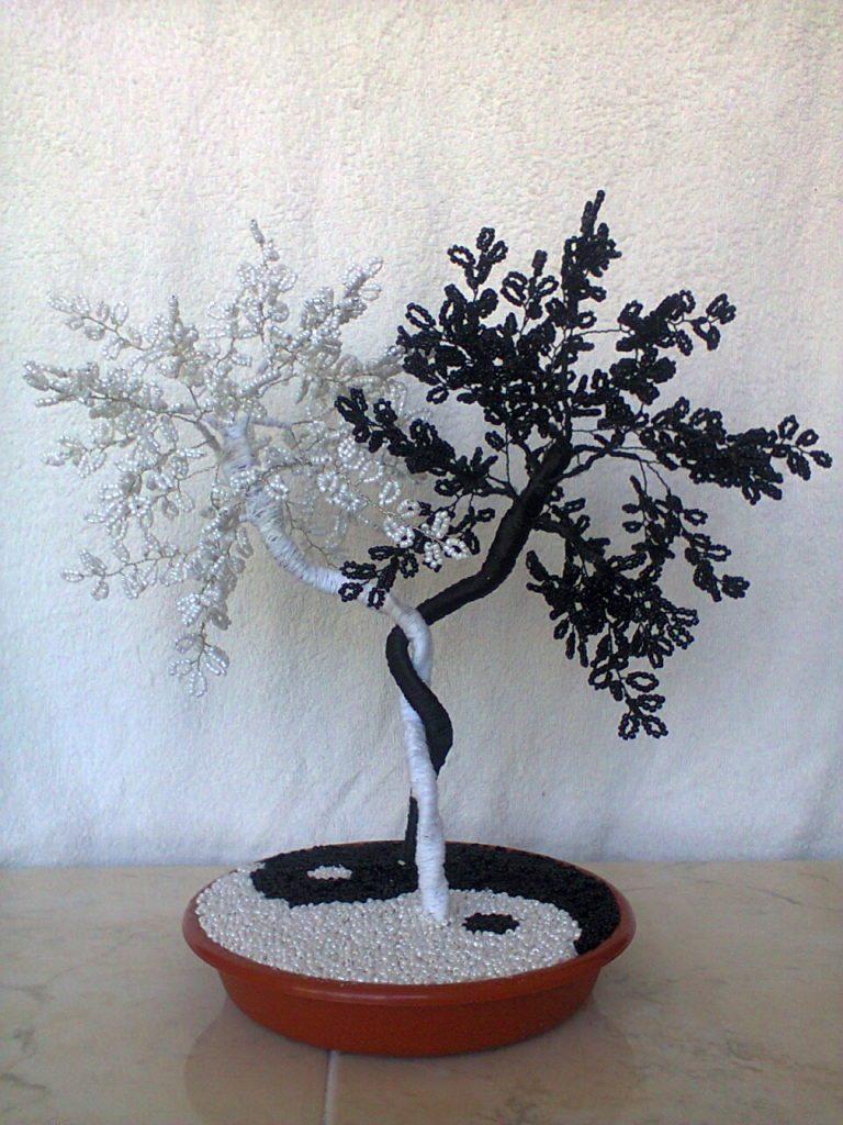 Бисер цветы и деревья