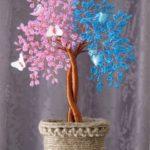 Дерево любви в стиле инь янь