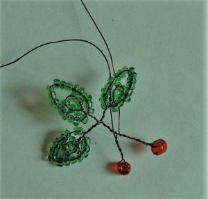 плетение веточек вишни