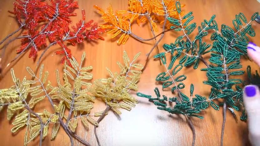 ветви для осеннего деревца